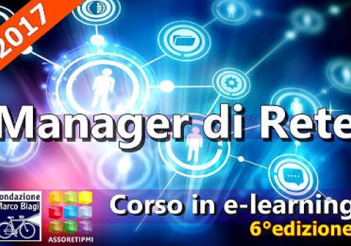 """""""CORSO DI FORMAZIONE PER MANAGER DI RETE"""" 6°edizione"""