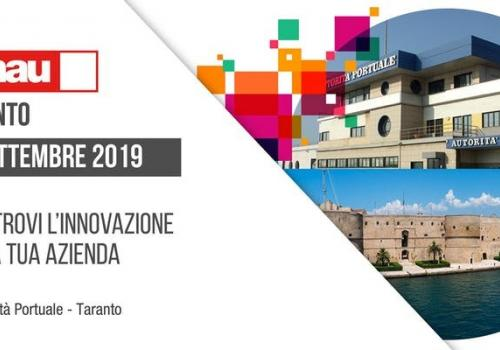 SMAU TARANTO 24 Settembre. Blue Economy, CleanTech, Open Innovation