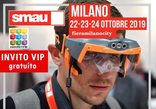 Smau Milano 2019 con Assoretipmi Reti d'Impresa 4.0, Economia Circolare, Blockchain e Agrifood Digitale
