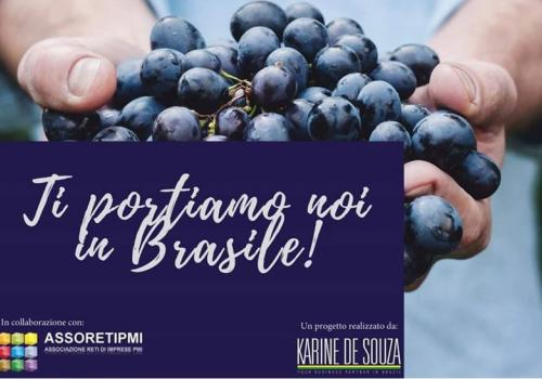PROGETTO KDS FOOD & WINES PER L'EXPORT IN BRASILE