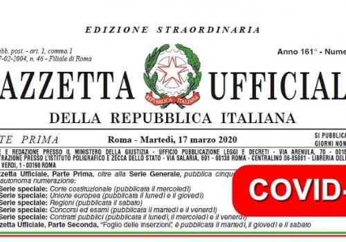 DECRETO CURA ITALIA - I VIDEO DI ASSORETIPMI