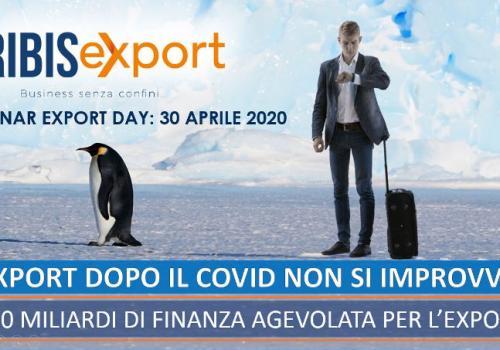 """""""CRIBIS EXPORT: BUSINESS SENZA CONFINI. L'EXPORT DOPO IL COVID NON SI IMPROVVISA"""""""