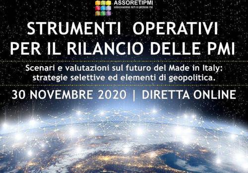 ASSORETIPMI evento 30 novembre