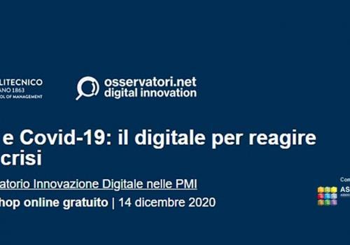 Evento PMI e Covid-19: il digitale per reagire alla crisi