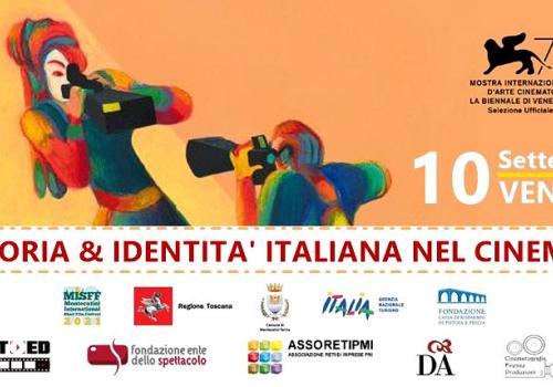 """10 Settembre, Venezia: 1° Incontro PROGETTO """"STORIA & IDENTITA' ITALIANA NEL CINEMA"""""""