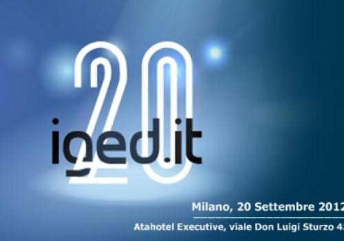 IGED.IT ventennale