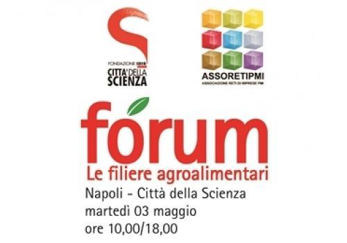 """3 Maggio, Napoli: Forum """"Le filiere agroalimentari"""""""