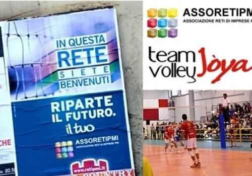 AssoRetiPMI – Team Volley Jòya! In questa RETE siete benvenuti. Riparte il futuro, il tuo!