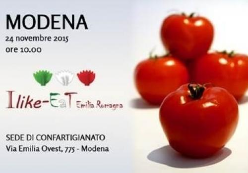 24 Novembre, Modena: I Like-EaT Emilia Romagna, come aumentare l'export dei prodotti alimentari Made in Italy