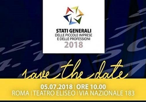"""5 Luglio, Roma: """"Stati Generali delle Piccole Imprese e delle Professioni"""""""