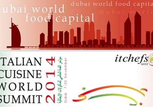 7-11 Novembre, Dubai: AssoretiPMI all'Italian Cuisine World Summit 2014