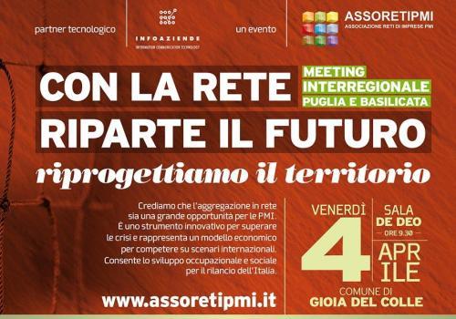 4 Aprile Meeting interregionale Puglia e Basilicata: il Sud si evolve