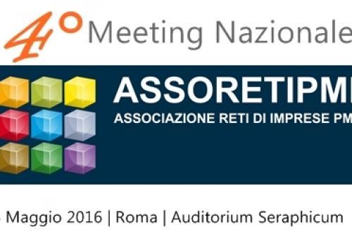Comunicato stampa | Sbarca a Roma il 4° Meeting Nazionale ASSORETIPMI, il 6 Maggio Giornata delle Reti d'Impresa.