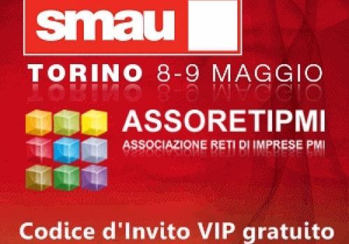 8-9 Maggio, SMAU Torino, 3° tappa roadshow Reti di Imprese - by ASSORETIPMI
