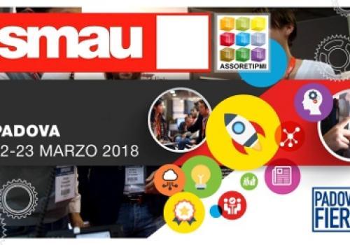 """22-23 Marzo SMAU Padova: CyberSecurity, RETI PMI 4.0 e 1°""""CAFFE' delle RETI"""" allo Smau! by ASSORETIPMI. Codice VIP gratuito."""