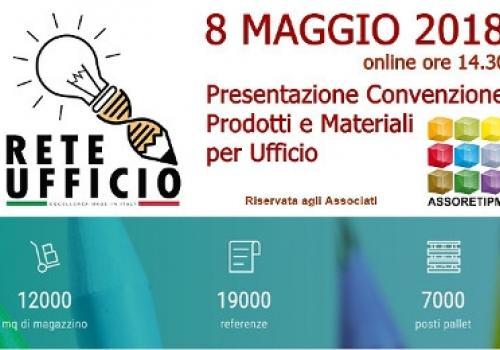 E'ON LINE LO STREAMING della Convenzione Prodotti per Ufficio di RETE UFFICIO ITALIA per ASSORETIPMI