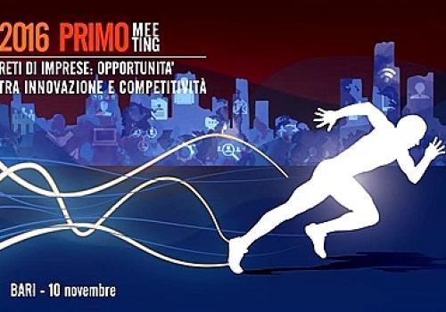 """10 Novembre, Bari: """"Reti di Impresa: Opportunità tra innovazione e competitività"""""""