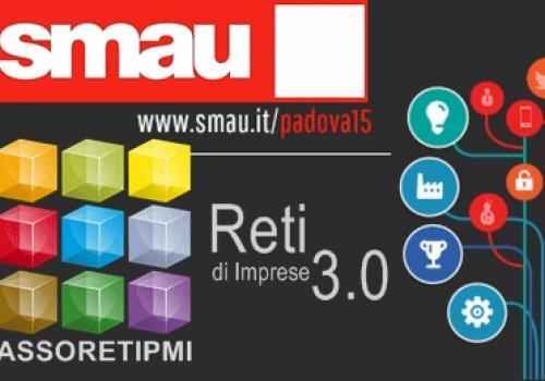 Riparte da Padova il nuovo TOUR 2015 di SMAU con Assoretipmi, 1-2 Aprile 2015. Codice VIP.