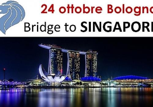 """24 Ottobre, Bologna: """"CONTRACT IN FAR EAST: BRIDGE TO SINGAPORE""""."""