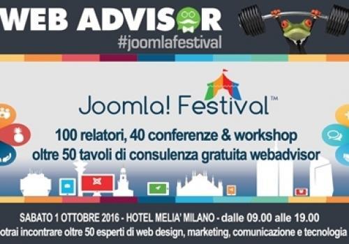 1°Ottobre, Milano: arriva il Joomla!Festival, con ASSORETIPMI