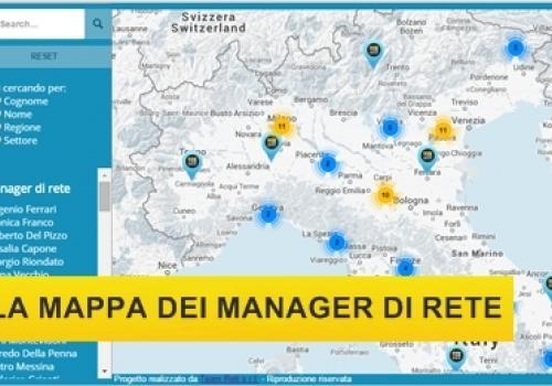 Al via la Mappa dei Manager di Rete ! by ASSORETIPMI